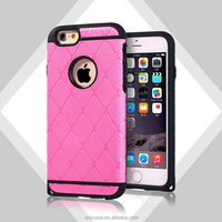 2015 unique Colorful PC+TPU Golden armor case series 2 mobile cell phone case for iPhone 5s/6