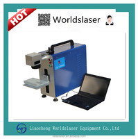 Portable fiber laser marking machine for electronics ,seperstion of components