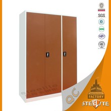 Factory direct sale steel furniture metal wardrobe locker/home furniture bedside locker