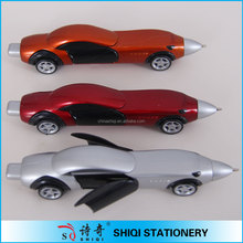 2015 promotional gifts office racing car pen,running car pen