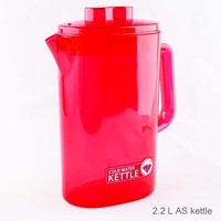 2.2L plastic water jug with jug spout