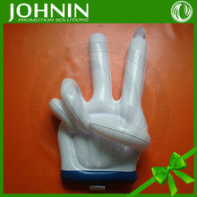 Eco-friendly promotion customized printed PVC Inflatable finger