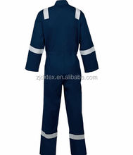 OEM workwear clothing design flame retardant coverall for men