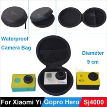 Camera Case for Go Pro/Xiaomi yi/SJ4000 Sport Camera Waterproof Storage Portable Bag for GoPros Hero4 3+ 2 SJ4000 Accessories