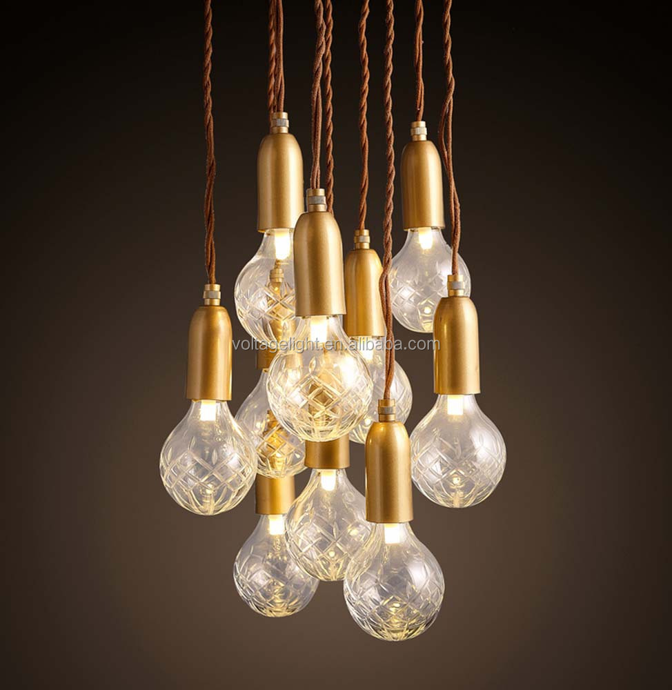 New products decorative vintage industrial led pendant for Modern hanging pendant lights