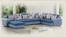 fs-039 luxurious Italian fabric sectional sofa