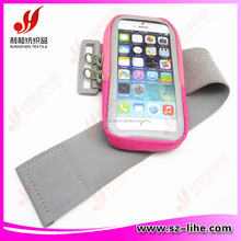 2015 Sport running/cycling reflective mobile phone arm band cell phone holde