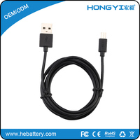 Wholesale Android ultra thin usb charge cable for samsung galaxy s4 xiaomi huawei