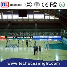 new soccer scoreboard sports stadium perimeter led cabinet board 7 segment led display 6 digit