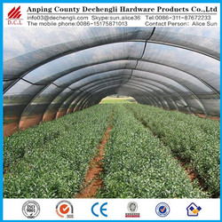 Chinese manufacturer ISO9001 factory Terrace organic garden with shade net