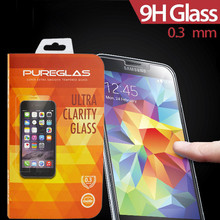 Pureglas glass screen skin protector for samsung galaxy s5 mini tempered screen cover