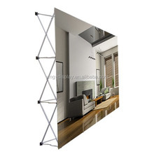 Custom 10ft advertising display stand wall for cosmetic promotion