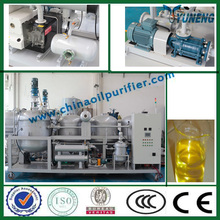 2014 With CE ISO profitable used gasolione engine oil refinery recycling machine