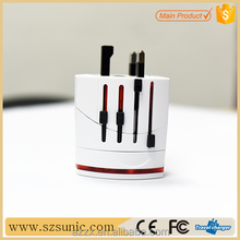 Large concessions travel adapter plug korea