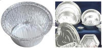 China aluminium foil food container and packing
