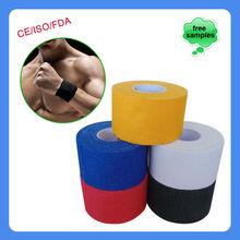 Zigzag Edge Porous Cotton Hot Melt Adhesive Strapping Sport Tape