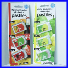 3 triple package 24pcs fresh breath mint strips candy