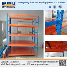 Dongguan High quality warehouse storage medium duty metal shelf
