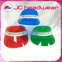 Wholesale cheap PVC sun visor cap