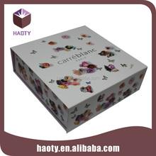 Art paper box packaging for birthday gift