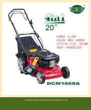 2015 hot top 6HP 4 in 1 seft- propelled Lawn Mower