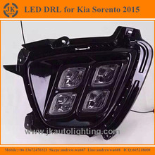 Factory Wholesale Daylights LED Daytime Running Lights for Kia Sorento Excellent Quality LED DRL for Kia Sorento 2015
