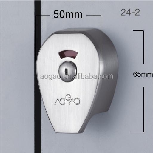 Aogao 24 2 zinc alloy commercial bathroom stall door - Commercial bathroom stall door latches ...