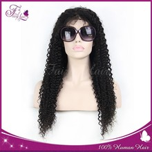 Human hair full lace wig unprocessed Chinese hair wigs 8''-32'top quality factory wholesale price