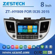 car dvd vcd cd mp3 mp4 player for Hyundai IX35 2015 support GPS/Bluetooth/Radio SWC/Digital TV/3G internet/WIFI/ATV/DVR