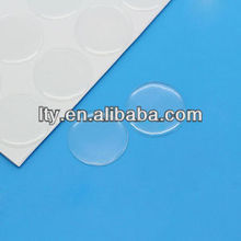 transparent 3d round epoxy domes resin stickers (M-EP041)