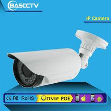 China Whole sale Metal 1/3'CMOS high definition 5Megapixel IP Camera Solutions, IR-CUT,P2P cloud,external POE IP Camera
