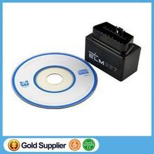 Super Mini ELM327 E Bluetooth OBD2 Version:1.5 V1.5 Software CAN Bus Diagnostic Interface Automible Tools Blue Color Car Detecto