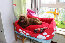 Wholesale Warm plush Suede suede cover dog bed for sale