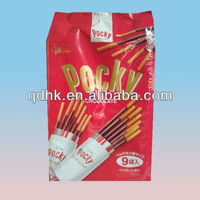 Pocky plastic food bag