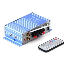 HIFI power Stereo Car Amplifier Car USB/SD/FM/DVD/CD/MP3 Remote Control Digital Car Audio Amplifier