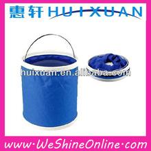 2014 HOT SELLING! Outdoor product folding bucket / Fishing bucket / Car wash bucket