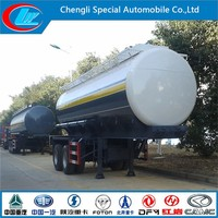 Hot sale chemical semi-trailer factory direct oil semi-trailer 2 axles HCl new semi trailer price