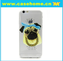 Dog Image Mobile Phone TPU Back Case for iphone 6plus
