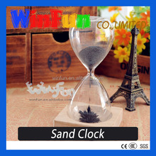 Magnetic Sand Timer Hourglass Novel Sand Glass Antique Hourglass