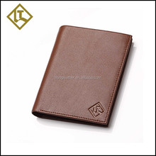 Hot sale custom branded brown wallet card holder card case for purse