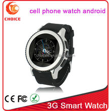 3g smart watch phone android waterproof ip67 with wifi and bluetooth 3.0 supplier
