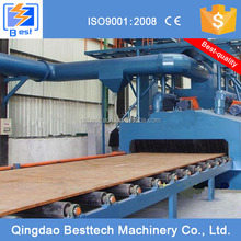 Hot sales roller bed type shot blasting machine