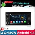 Android. 4.4.2 3g/usd./sd./radio./wifi,/bt toyota corolla rav4 voiture dvd gps