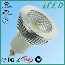 ETL UL PSE Dimmable COB Spotlight EZ10 E12 E14 E17 Lamp Holder 5W Led Bulb E11 120V