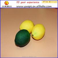 YIWU artificial fruit / artificial lemon for decoration