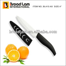 "4"" Vegetable Ceramic Peeling knife with PP sheath for protection"