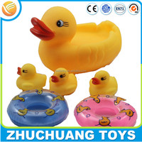 baby doll rubber bathing duck toy set