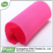 pink 100% polyester 3d sandwich sport shoes mesh fabric