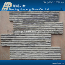 China factory directly sales cut to size white slate quartzite