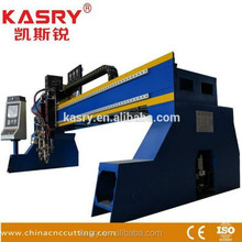 Heavy duty gantry plasma/oxyfuel cutting machine for metal sheet
